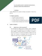 DE QUÉ MANERA LA PLANIFICACIÓN Y GESTIÓN TECNOLÓGICA GARANTIZA EL ÉXITO DE UN PROYECTO (2)