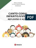 Canto Coral Infantojuvenil Reflexoes e A