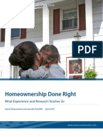 Homeownership Done Right