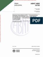 NBR16150 - Arquivo Para Impressão