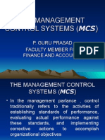 management control systems  introduction 1