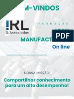 Lean Manufacturing on Line Jun20
