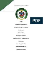 COF 2018-0759 Análisis sobre el Desarrollo y Diseño de Productos.