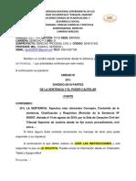 FS-02 MÓDULO III DERECHO PROCESAL CIVIL II, PARTE I  PROF. MSc. JOHAN HERRERA.