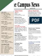 Campus News 4-8-11