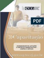 ECG - Apostila Economicidade em Licitacoes e Contratos - COMPRAS e SERVIÇOS