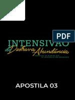 APOSTILA 03 [INTENSIVÃO DO DESTRAVA]