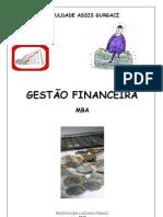 Apostila MBA Gestão Financeira