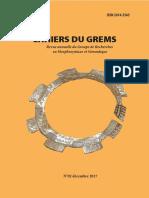 DE L'ARGUMENTATIVITE DES OPERATEURS