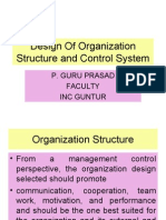 DESIGNING THE CONTROL SYSTEMS - management control systems-