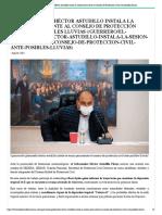 26-08-2021 El Gobernador Héctor Astudillo instala la sesión permanente al Consejo de Protección Civil ante posibles lluvias
