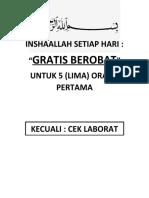 INSHAALLAH SETIAP HARI