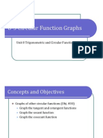 8-5 Circular Function Graphs (Presentation)