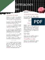 FMU - Química geral aplicada - Transformações gasosas