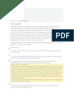 ATIVIDADES DE FIXAÇÃO - METODOLOGIA DO ENSINO DE HISTÓRIA
