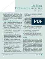E-Commerce Auditing
