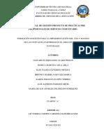 Informe Final de Gestión Proyecto de Prácticas Pre Profesionales de Servicio Comunitario