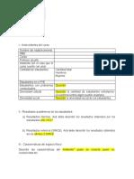 Diagnóstico del curso definitivo formato