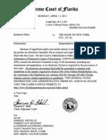 Supreme Court High Profile Order Roman Pino vs the Bank of New York