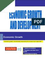 (11) ECONOMIC GROWTH AND         DEVELOPMENT