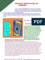 BOLETIN 14 - COMO SE REPARA EL MODULO HC801 DE SAMSUNG