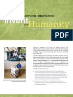 Invent for Humanity Brochure