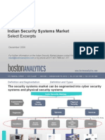 Indian Security Systems Market Overview Excerpts