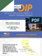 UCLA TechTransfer Metrics and Organization