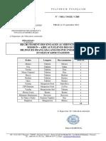 Service Civique Liste Ecoles