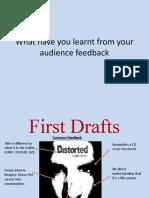 Media Essay 2- Audience Feedback