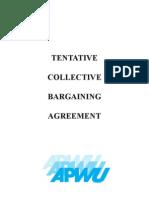 APWU, USPS Tentative Contract (Corrected 4/11/2011)
