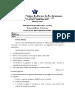 APX1 Mundo Helenístico Rafael Azevedo Pires Domingues 17216090105