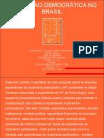 A inovação democrática no Brasil