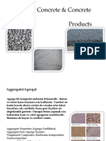 Aggregate, Concrete & Concrete Products