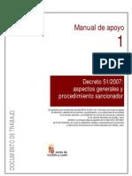 Manual de apoyo procedimiento sancionador. Junta de Castilla y León