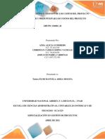 La estimación de los costos y determinación del presupuesto del proyecto