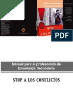 Stop a los conflictos. Manual para el profesorado de secundaria