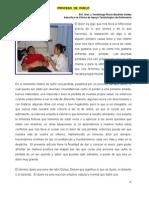 proceso_duelo  DE  Tanatóloga Rocío Bautista Valdez Adscrita a la Clínica de Apoyo Tanatológico de Enfermería