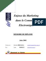 Enjeux du Marketing dans le Commerce Electronique