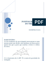 pontos notveis do tringulo-polgonos