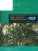 Natureza, cultura e patrimônio ambiental (Antropologia) -Julio