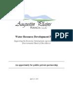 Augustin Plains Ranch Water FINAL REVSION 04 11