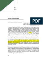 Castellana, Il metodo di Auerbach