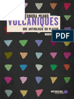 Volcaniques Une Anthologie Du Plaisir by Léonora Miano (Dir.)
