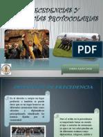 PRECEDENCIAS PROTOCOLARIAS DEL ECUADOR