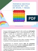 PROPUESTAS DIDÁCTICAS _CUADRO POP_