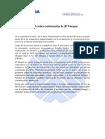 PDVSA sobre contratación de JP Morgan