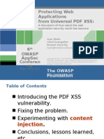 OWASPAppSec2007Milan ProtectingWebAppsfromUniversalPDFXSS