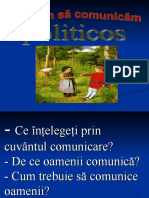 Comunicăm Politicos