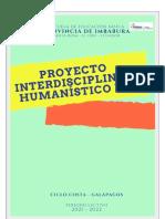 PROYECTO HUMANÍSTICO INTERDISCIPLINARIO TERCER GRADO